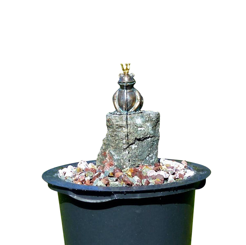 Wasserwelt HENRY, Brunnenkomplettset aus Bronze und Stein