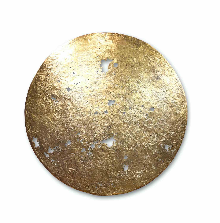 Bronzeobjekt HIMMELSSCHEIBE, ø 75 cm