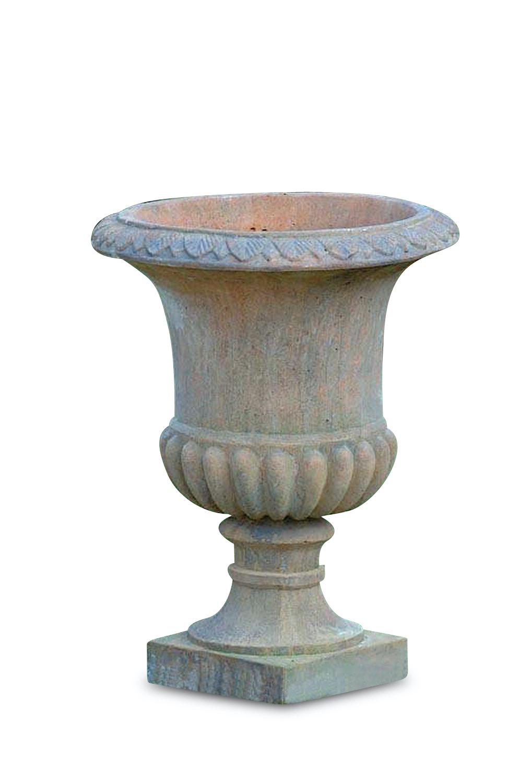 Steinvase ROMAN, 73 cm, Quarzsteinguss