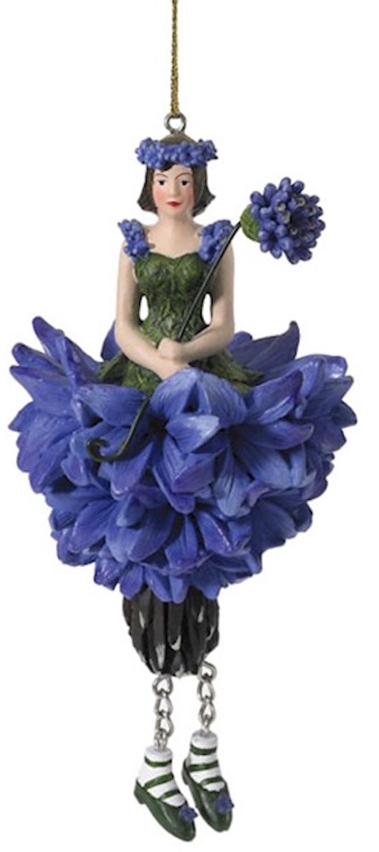 Blumenmädchen Kornblume