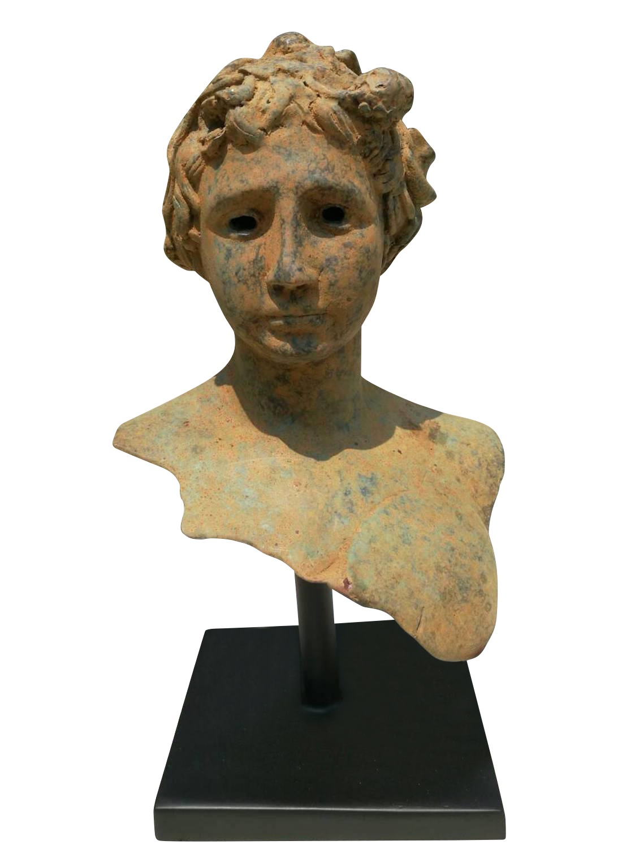 Bronzebüste JANUS (Römischer Knabe)