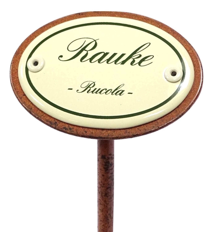 Kräuterschild RAUKE (RUCOLA)