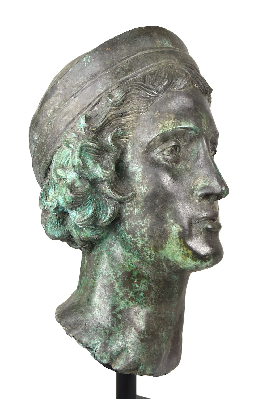 Bronzebüste CAGLI, 67 cm