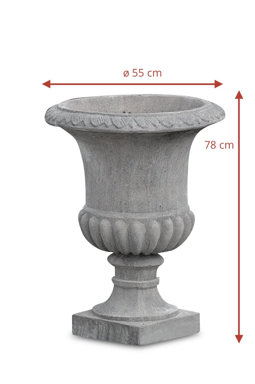 Steinvase ROMAN, 73 cm