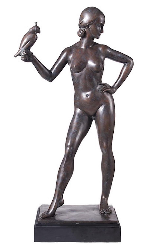 Bronzefigur JUNA