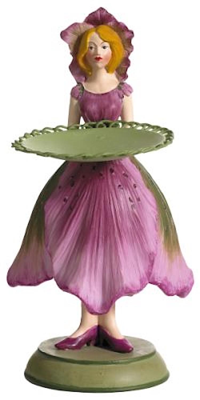 Blumenmädchen Teller CHRISTROSE rosa