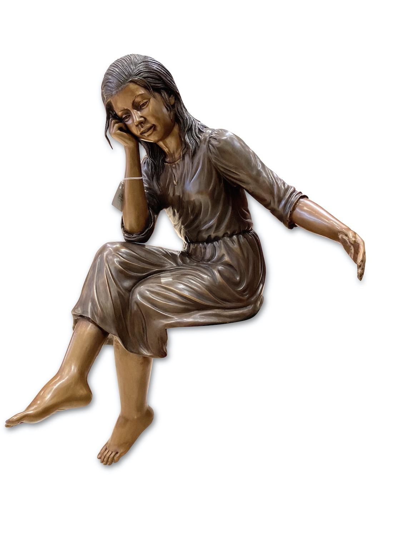 Bronzefigur MARTINE, 90 cm