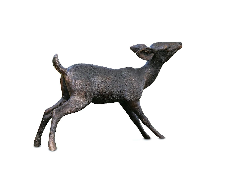 Bronzefigur Rehkitz BAMBES, 81 cm