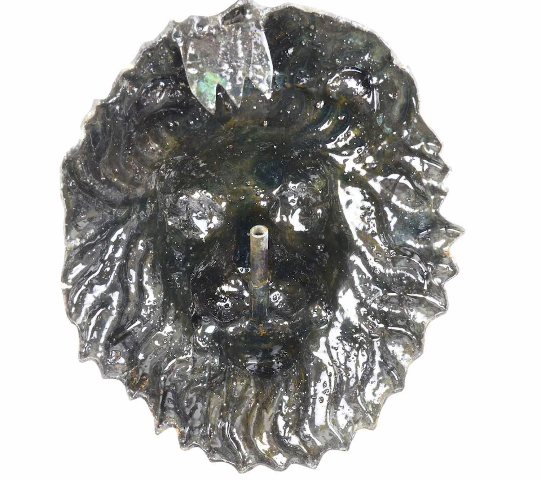 Bronze Wasserspeier Löwe WASSERLÖWE