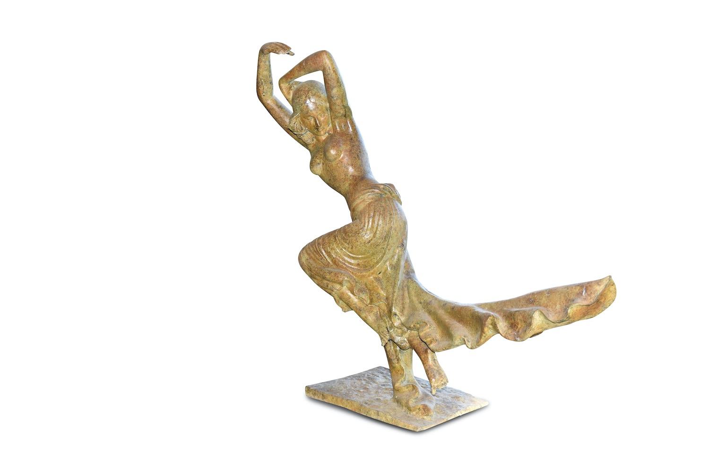 Bronzefigur ARTEMIS, 114 cm hoch