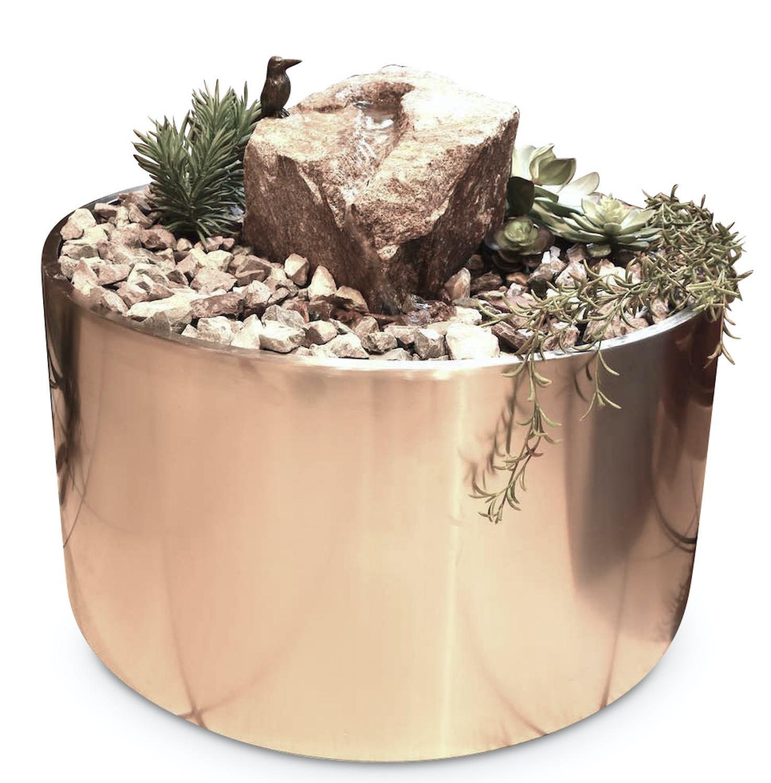 Wasserwelt - für innen EISVOGEL, aus Bronze, Stein, Edelstahl