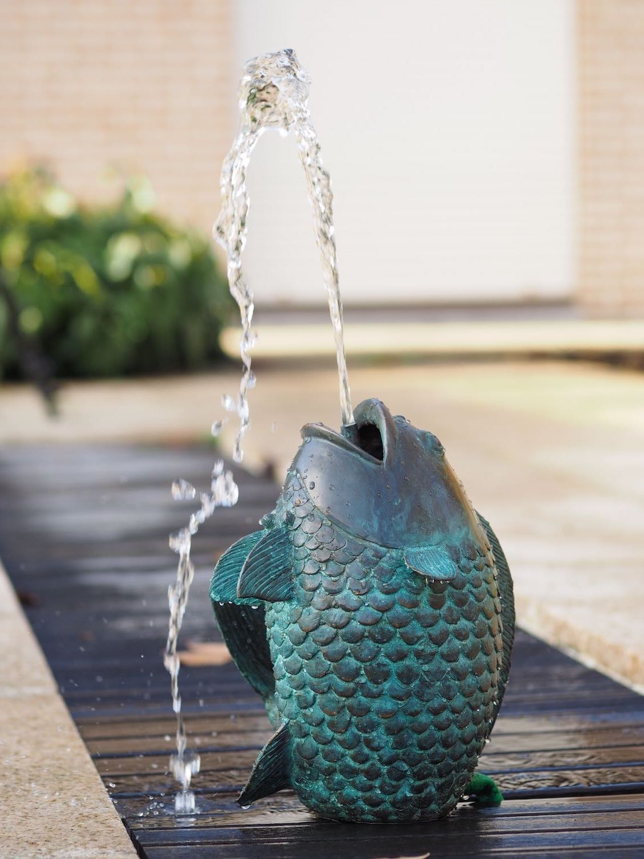 Bronzewasserspeier JOEL, 29 cm