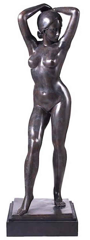 Bronzefigur ADONIA, 125 cm