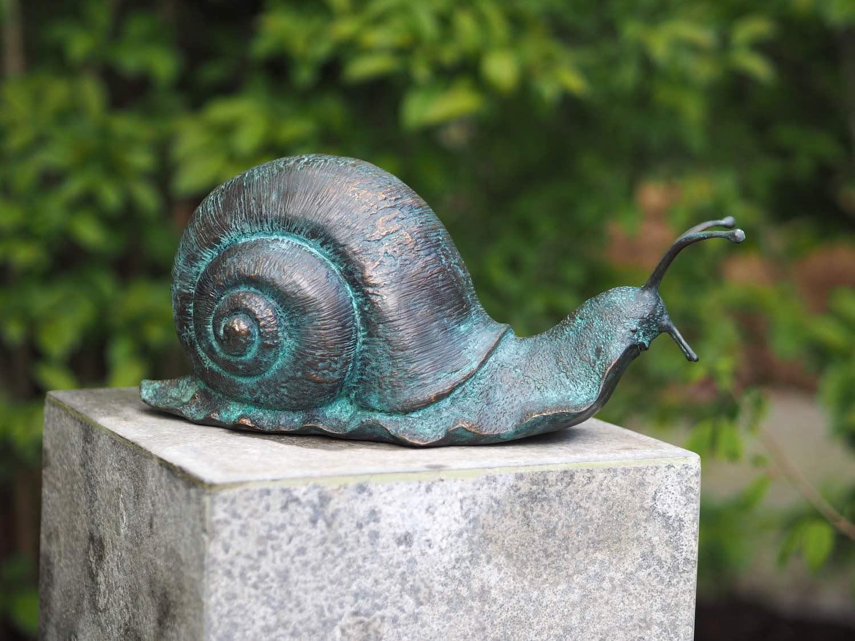 Bronzefigur Schnecke GERD