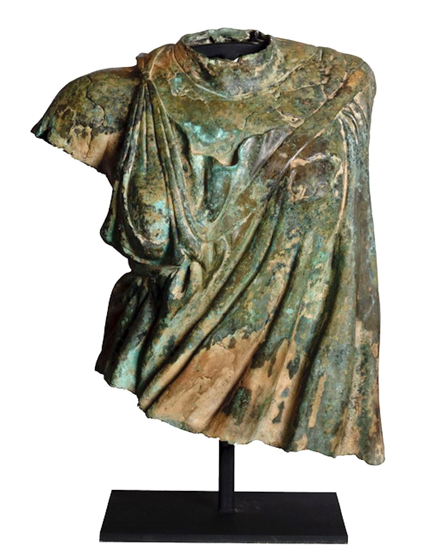 Bronzefigur RÖMISCHE STOLA