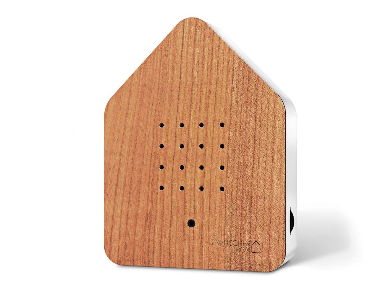 ZWITSCHERBOX Holz KIRSCHE-weiß