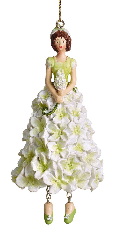 Blumenmädchen Flieder weiß