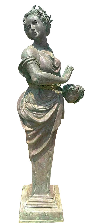 Bronzefigur EUNIKE, 4 Jahreszeiten Frühling