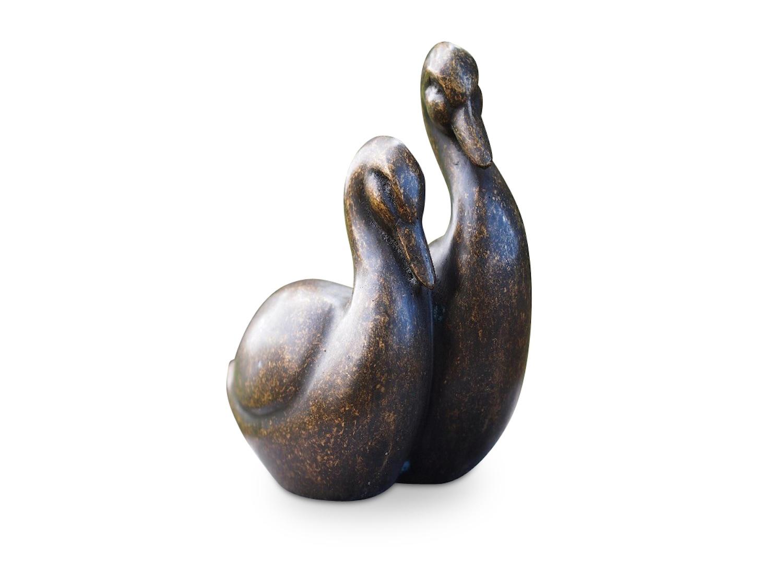 Bronzefigur Vogel Gans BEA & DEA, 19 cm