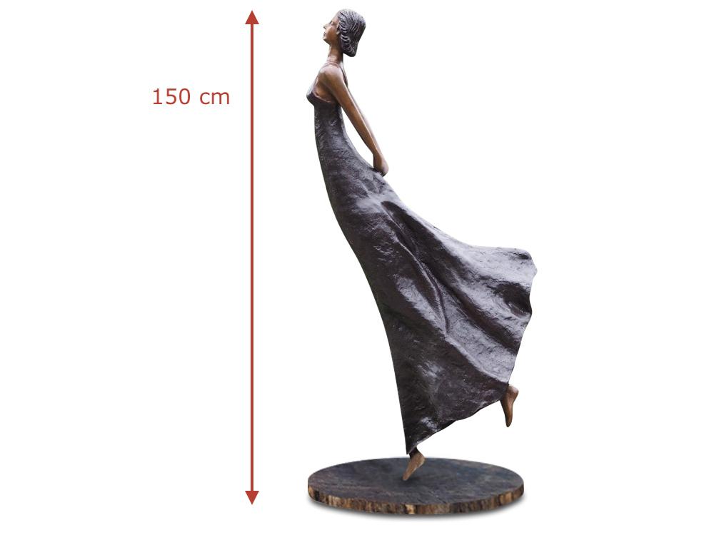 Bronzefigur FLORANCE (Schwebende), 150 cm