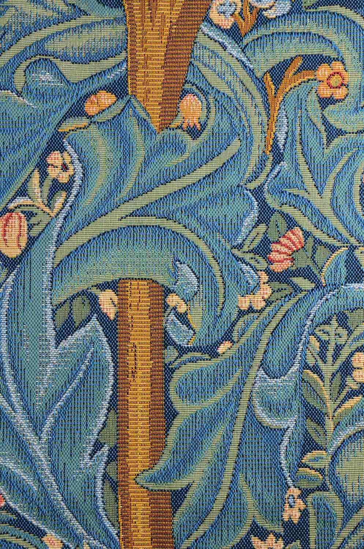Wandgobelin MORRIS LEBENSBAUM mit Specht (William Morris)