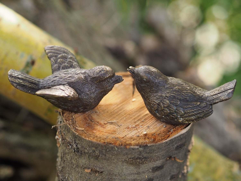 Bronzefiguren Vogel SING & SANG