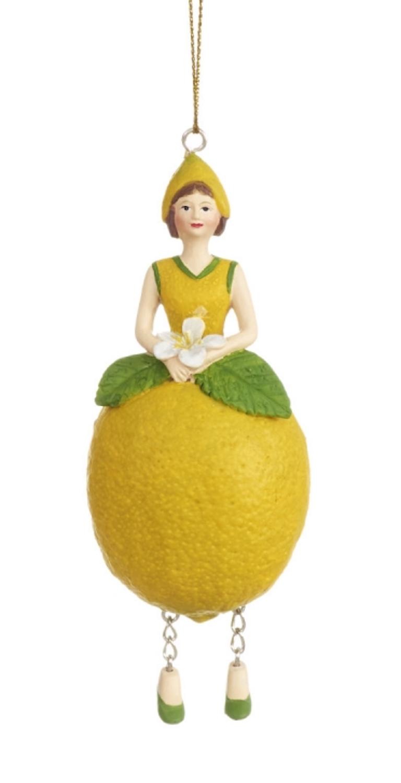 Blumenmädchen Zitrone