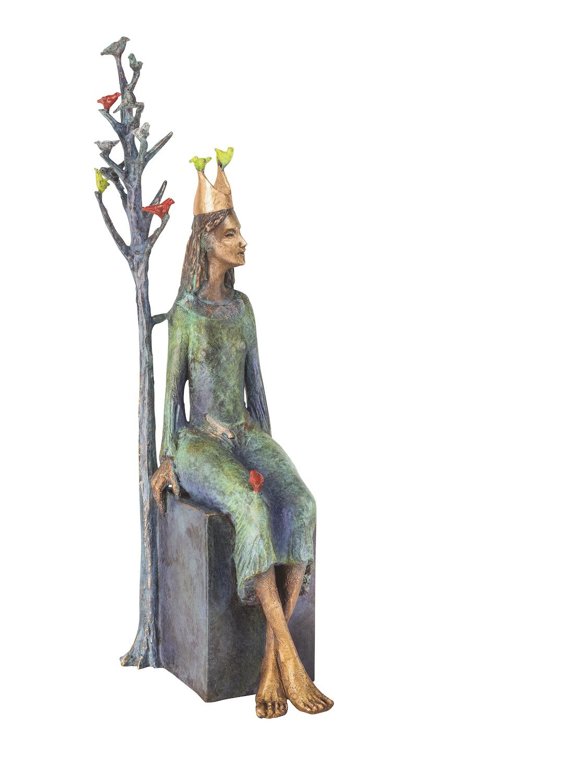 Bronzefigur PRINCESS, limitierte Künstlerbronze