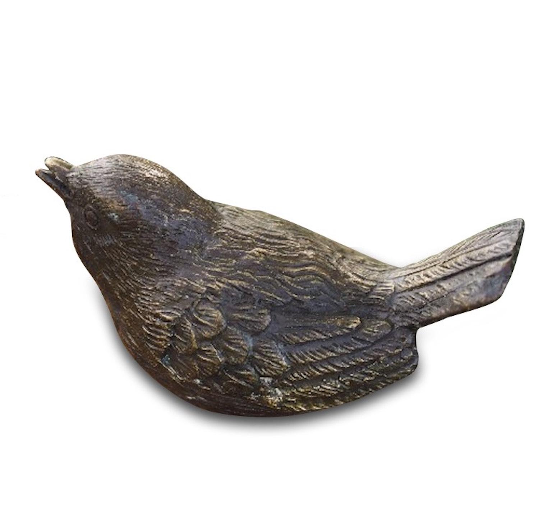 Bronzefigur Vogel SANG