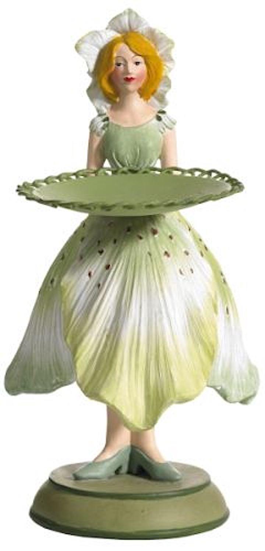 Blumenmädchen Teller CHRISTROSE hellgrün
