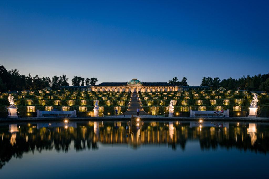 Potsdamer Schlössernacht 2019 - Schloss Sanssouci ©Michael Clemens