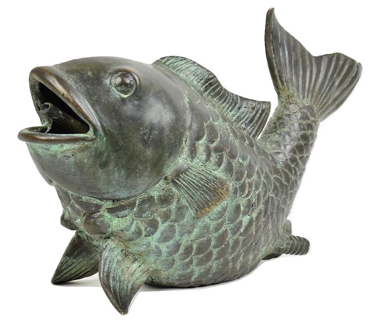FRIDO, Bronze Wasserspeier
