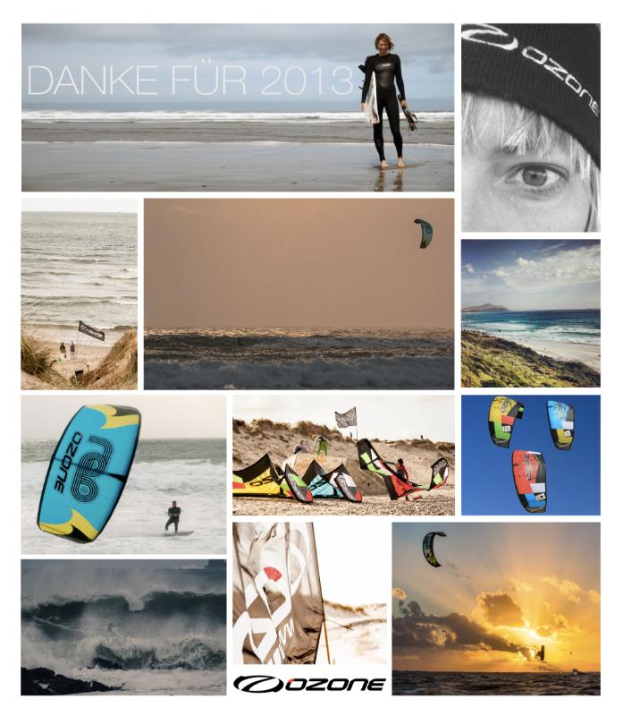 Sanja / Pzone Kites Deutschland saget Danke für 2014