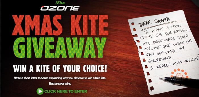 Ozone X-mas Kite Giveaway