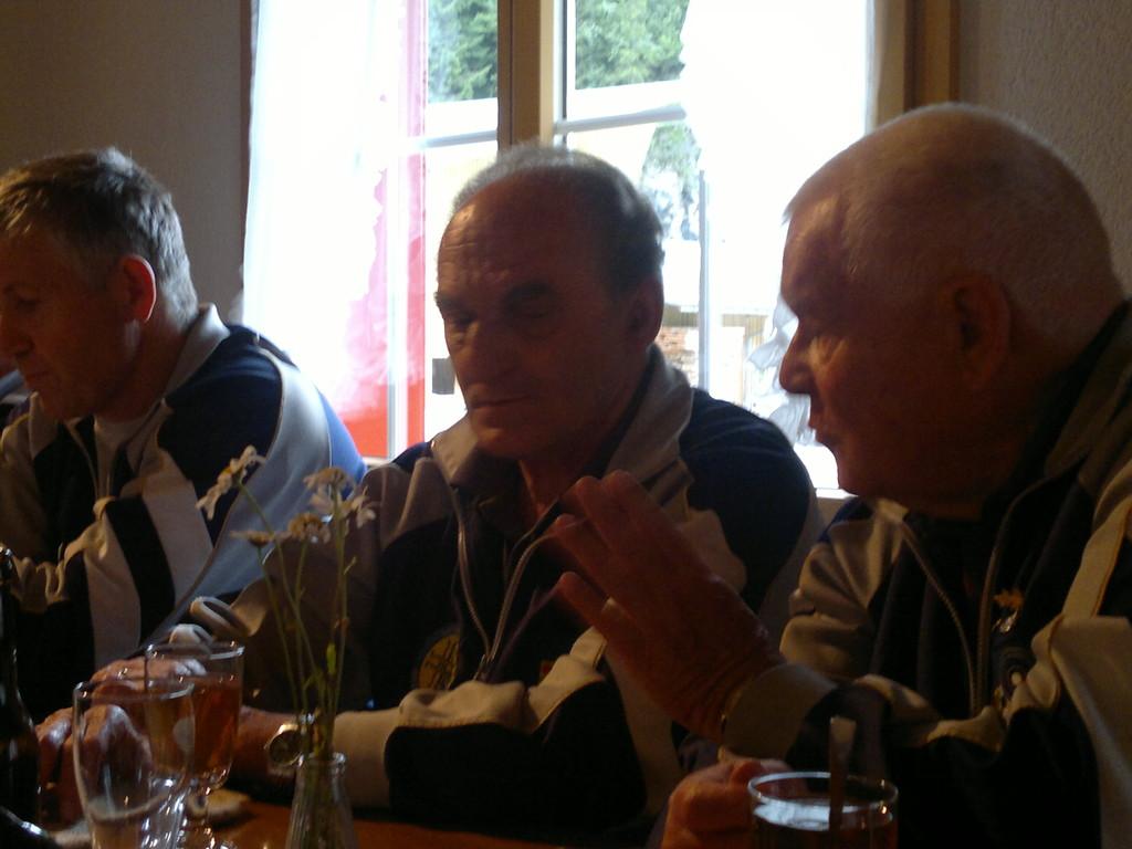Diskussionen am Mittag