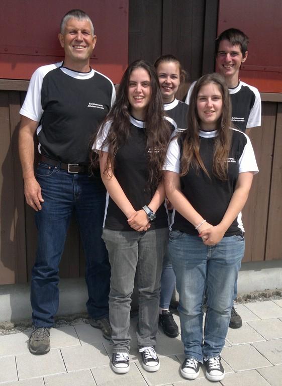 Gruppenfoto Ostschweizerfinal Gonten