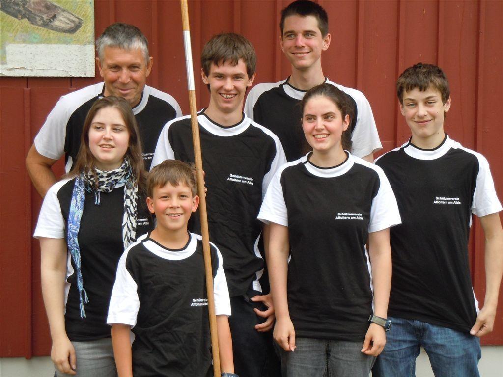 Gruppenfoto Bezirksfinal Stallikon