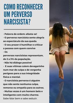 todas as maneiras para reconhecer uma pessoa tóxica e perverso narcisista