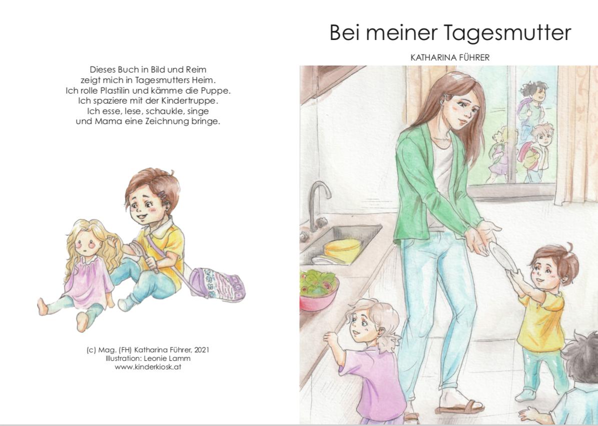 Bei meiner Tagesmutter Bilderbuch für Kleinkinder