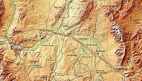 US-Bundesstaat Montana