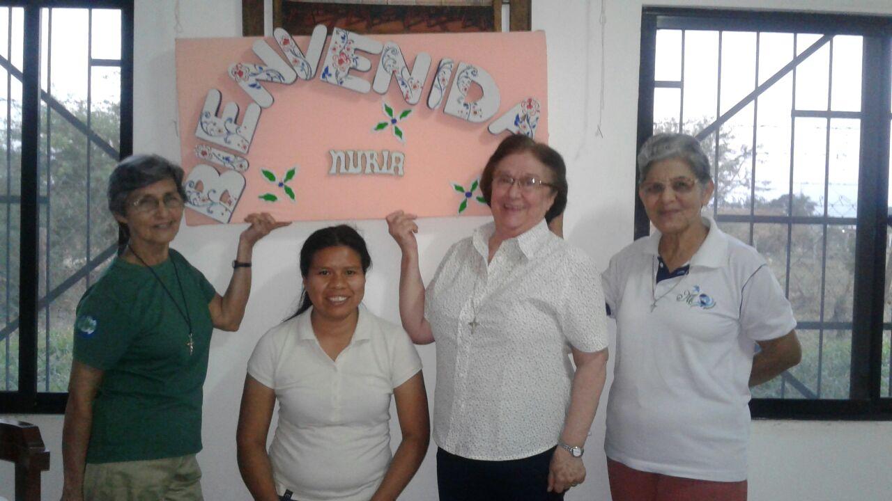 Sister Nuria's visit in Bolivia