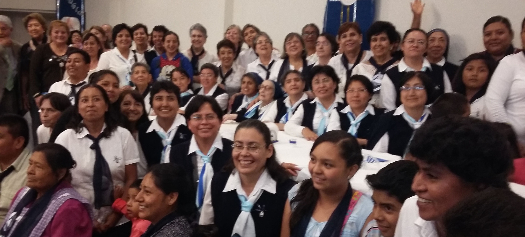 Celebration in Mexico for Ste Jeanne Emilie