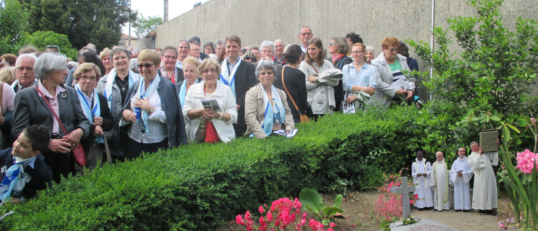 Celebration at Castres for the canonization of Jeanne Emilie