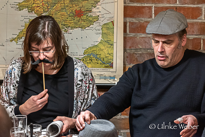 Irina Tegen und Olaf Wulf – Foto: Ulrike Weber