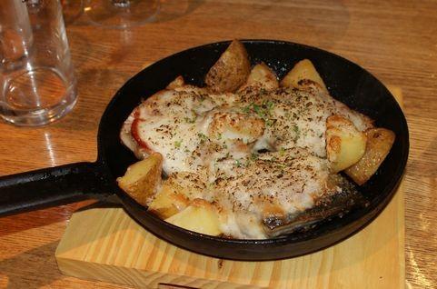 鯖のチーズ焼き