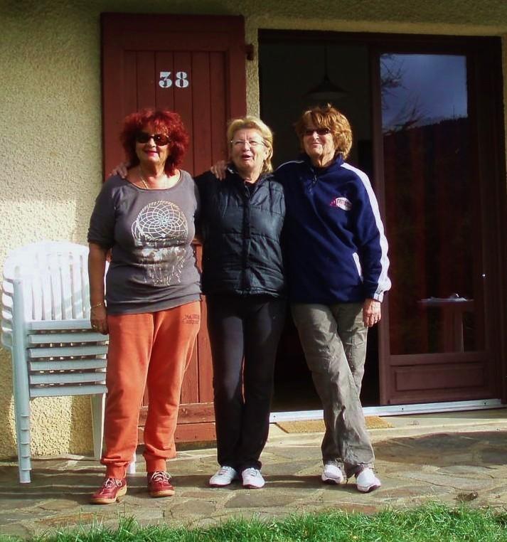 Les 3 copines : Arlette, Sylvie et Danielle.
