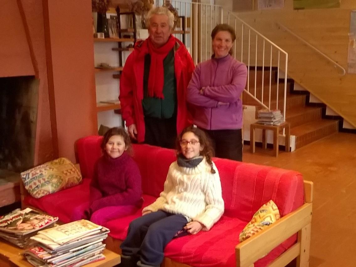 Joseph, Claire, Roxanne et Pauline
