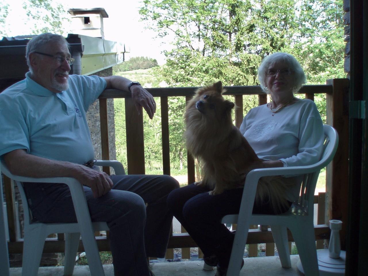 Jacques, Ginette et Dixie