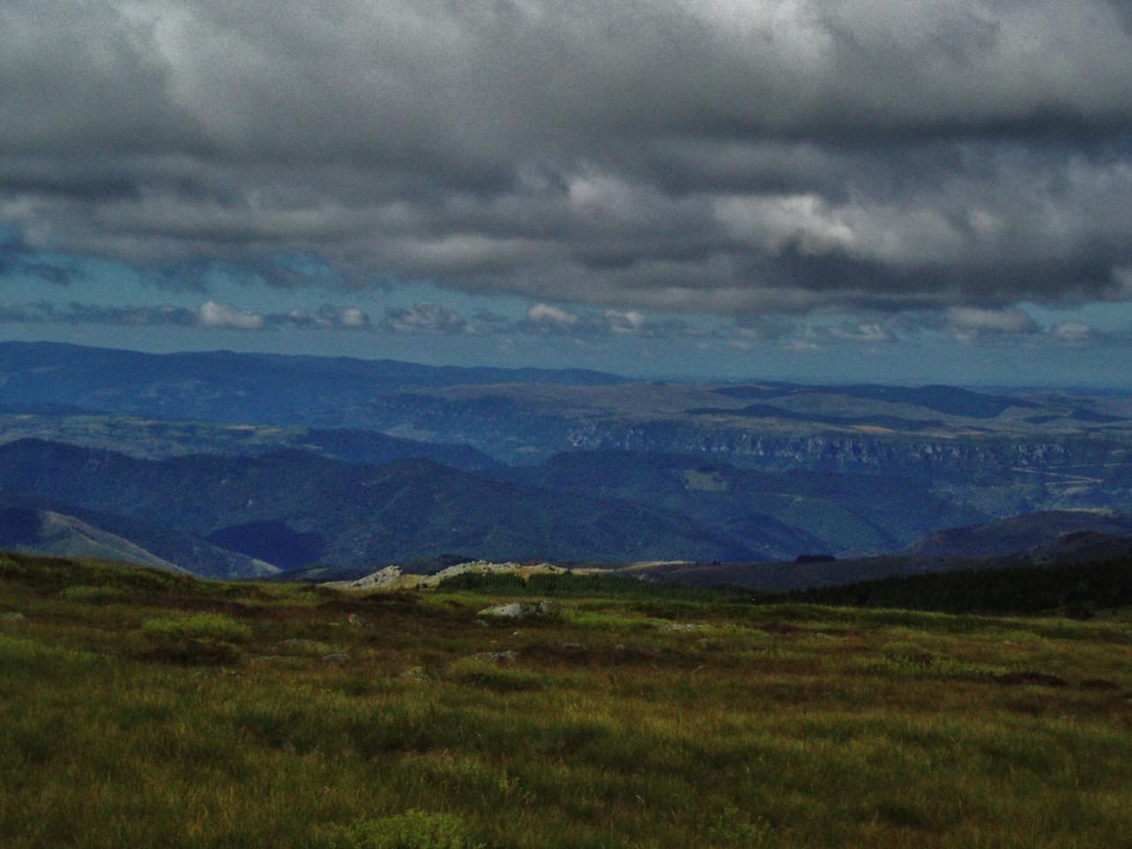 La montée au pic Finiels est rude mais le paysage en vaut la peine.