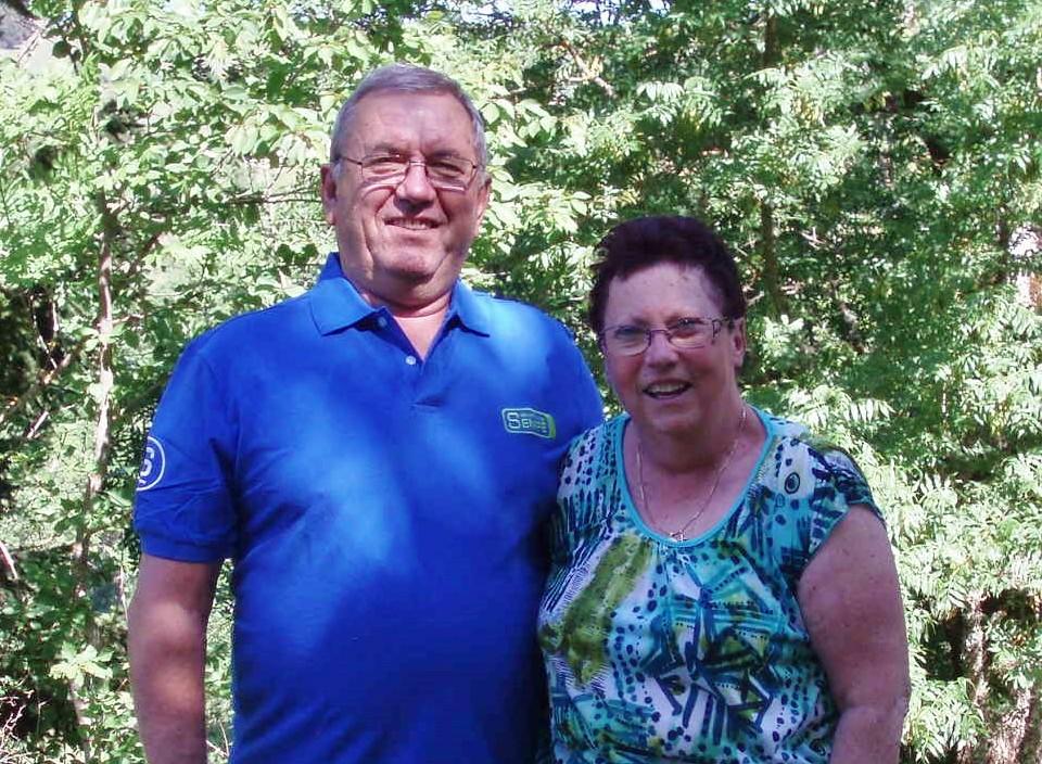 Jacqueline et Julien, des fidèles depuis 9 ans.